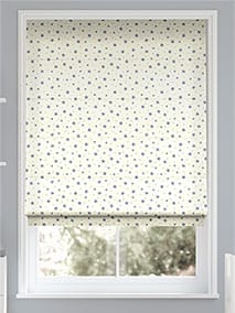 Starry Skies Stormy Blue Roman Blind thumbnail image