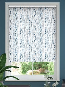 String of Hearts Blue Roller Blind thumbnail image