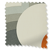 Striped Petal Orange Curtains slat image