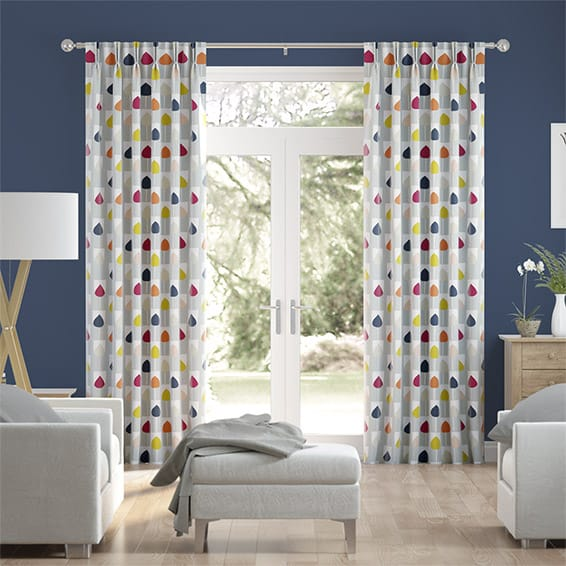 Sula Berry Crush Curtains