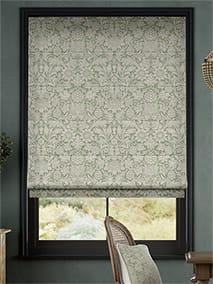 William Morris Sunflower Soft Green Roman Blind thumbnail image