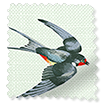 Swallows and Swifts Duck Egg  Curtains slat image