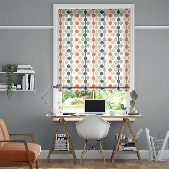 Taimi	Fruit Punch Roman Blind