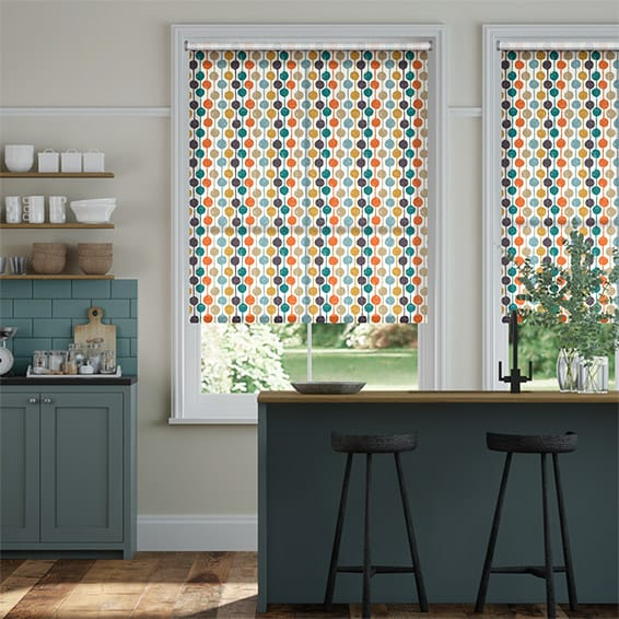 Taimi Kingfisher Roller Blind