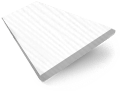 Tampa Alpine White  Faux Wood Blind sample image