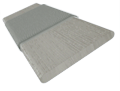 Tampa Tonal Grey & Tin Faux Wood Blind - 50mm Slat slat image