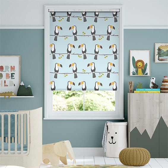Terry Toucan Blackout Sky Roller Blind