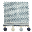 Thermal Luxe Dimout Blue Mist & Henley Roller Blind sample image