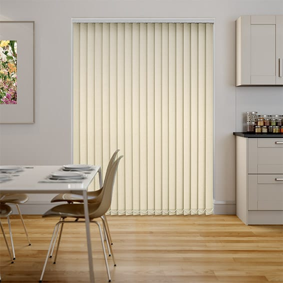 Thermatex Cream Vertical Blind