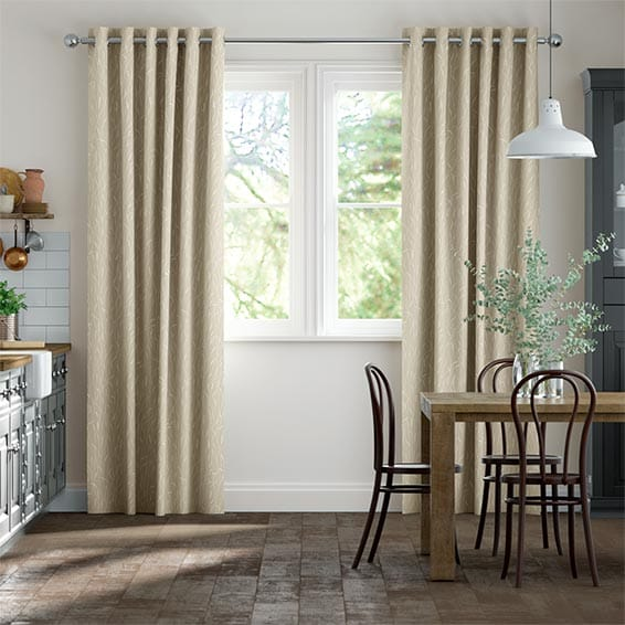 Timothy Grass Natural Curtains