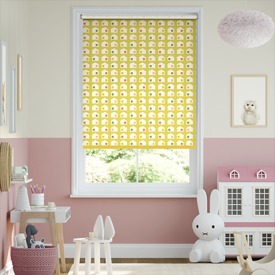 Tiny House Blackout Daffodil Roller Blind
