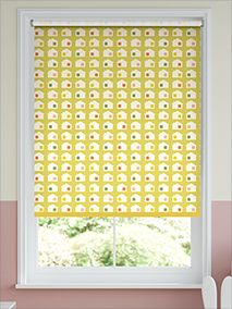 Tiny House Blackout Daffodil Roller Blind thumbnail image