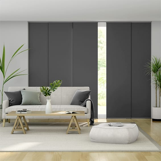 Titan Kendall Charcoal Panel Blind