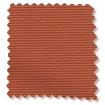 Toulouse Blackout Paprika Roller Blind sample image
