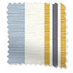 Truro Stripe Coastal Blue Curtains slat image