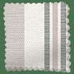 Truro Stripe Sandstone Roman Blind swatch image