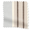 Tutbury Stripe Winter Sky swatch image