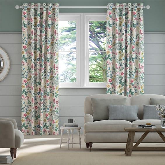 Twilight Garden Multi Curtains