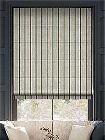 Twill Stripe Linen Deep Blue thumbnail image
