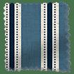Twill Stripe Linen Denim Roman Blind swatch image