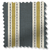 Twill Stripe Linen Gold Shadow swatch image