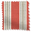 Twill Stripe Linen Party Red swatch image