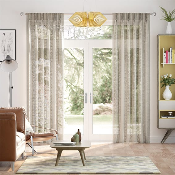 Typhoon Voile Gilt Curtains