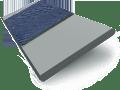 Urban Grey & Oxford Blue Wooden Blind swatch image