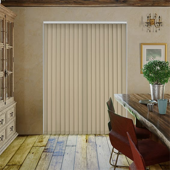 Utopia Latte Vertical Blind