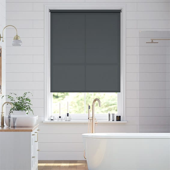 Valencia Anchor Grey  Roller Blind