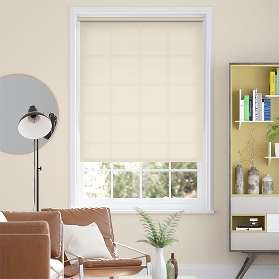 Valencia French Cream Roller Blind