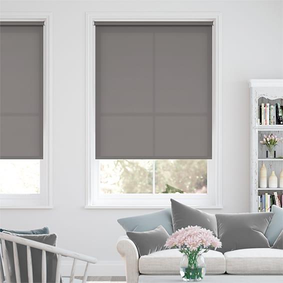 Valencia Simplicity Neutral Grey Roller Blind