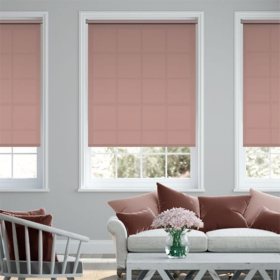 Valencia Orchid Pink Roller Blind