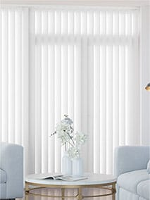 Valencia Simplicity Lilywhite Vertical Blind thumbnail image