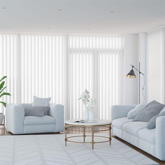 Valencia Simplicity Lilywhite Vertical Blind