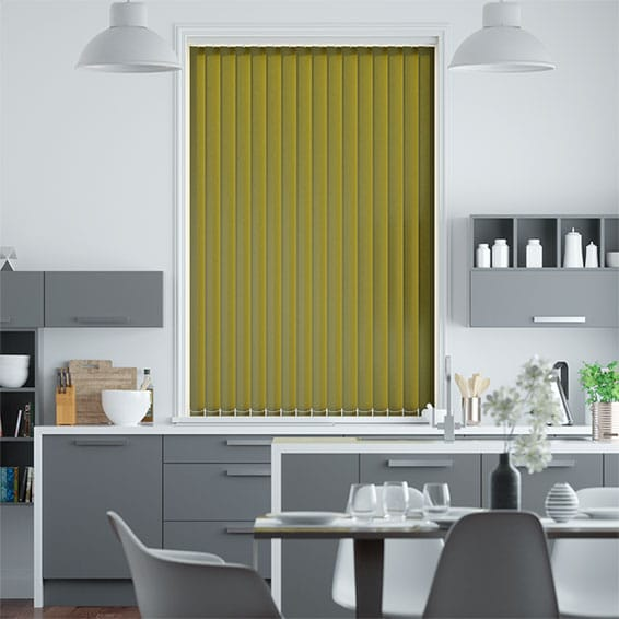 Valencia Spring Green Vertical Blind