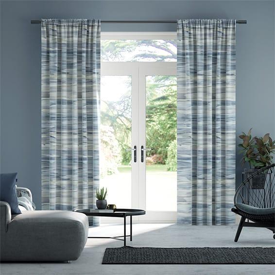 Valerius Sapphire Curtains