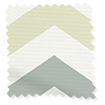 Vector Border Pebble Roller Blind swatch image