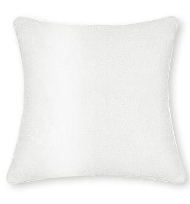 Velvet Pure White Curtains - Cushions