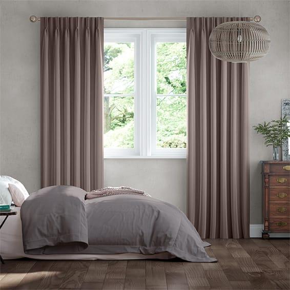 Velvet Stone Curtains