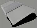 Vermont Cedar Grey & Paloma Wooden Blind - 50mm Slat slat image