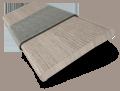 Vermont Metropolitan Grey Mist & Dusk Wooden Blind - 50mm Slat slat image