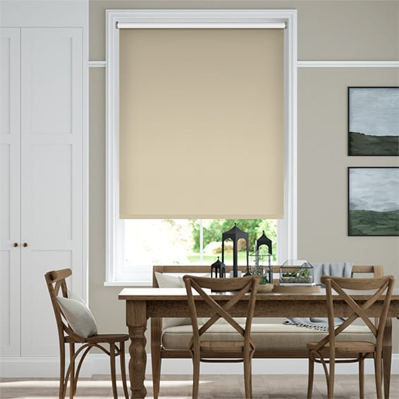 Verona Blackout Almond Roller Blind