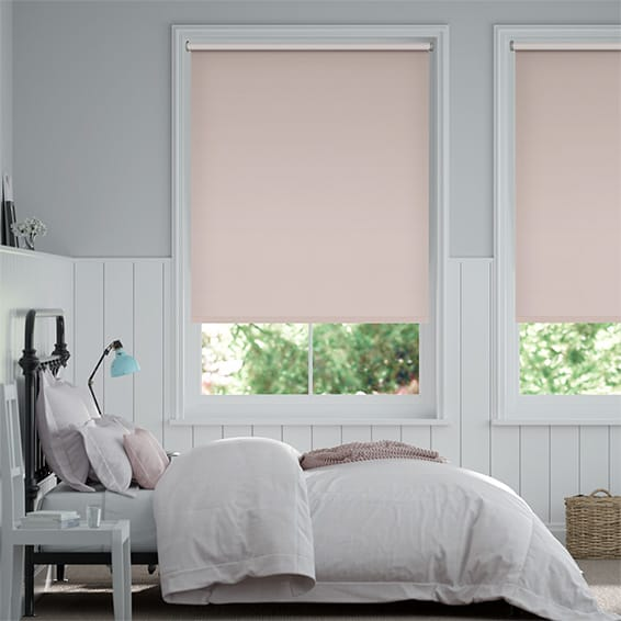 Verona Blackout Vintage Blush Roller Blind