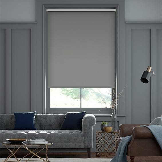 Verona Blackout Pewter Roller Blind