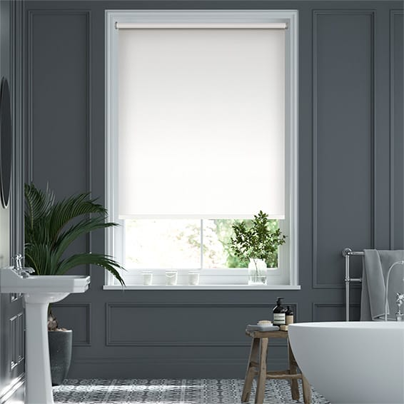 Verona Blackout Simply White Roller Blind