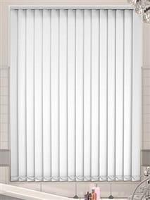 White PVC Blackout Vertical Blind thumbnail image
