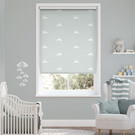 Warren Powder Blue Roller Blind