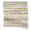 Wave Affinity Sandstone Wave Curtains swatch image