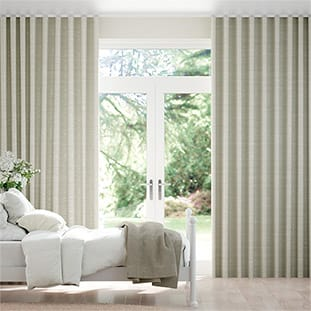 Wave Ahisma Luxe Faux Silk Oyster Wave Curtains thumbnail image